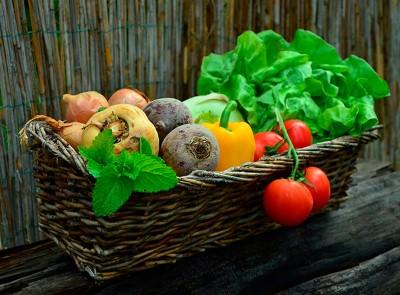 Légumes, bio et locaux, produits de saison